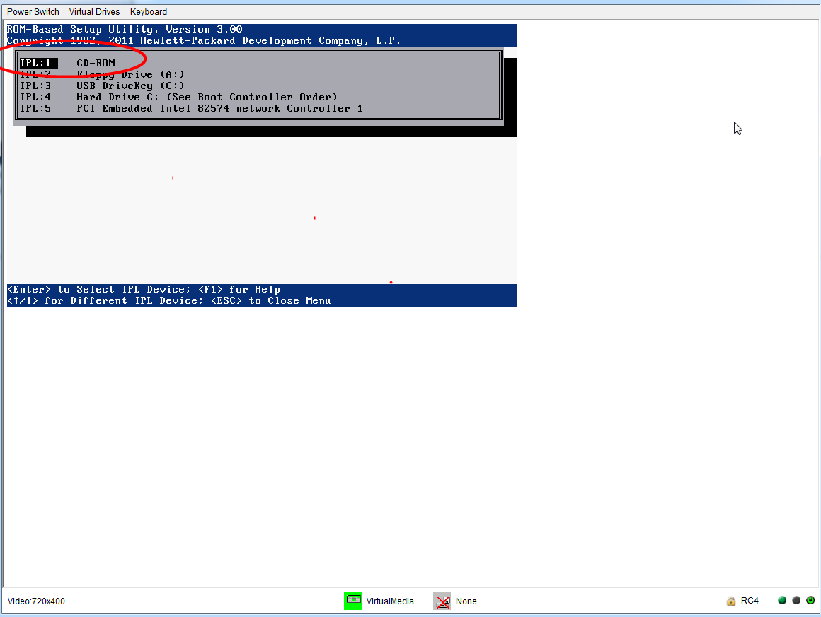 ProLiant Servers (ML,DL,SL) topics